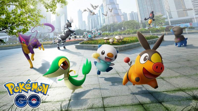 Gen 5 Pokémon Begin Appearing In Pokémon Go Today